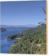 Vulture Ridge View Wood Print