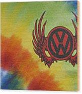 Vw Club Logo Wood Print