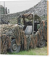 Vw Iltis Of The Special Forces Group Wood Print