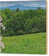 Wachusett Mountain Wood Print