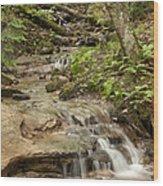 Wagner Falls Wood Print