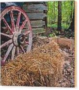 Wagon Daze Wood Print