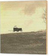 Wagon Hill Wood Print