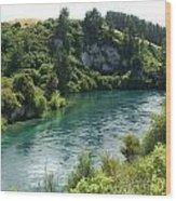 Waikato River Wood Print