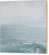 Waiola Water Of Life Wood Print