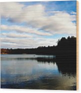 Walden Pond Reverie  Wood Print