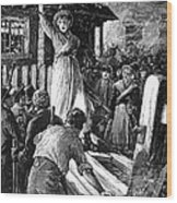 Wales: Rebecca Riots, 1843 Wood Print