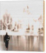 Walking On Water Wood Print