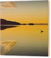 Wallis Lake 5521 Wood Print