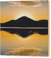 Wallis Lake 5527 Wood Print