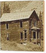 Walsh House Wood Print