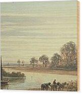 Walton On Thames Wood Print