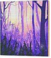 Wanderlight Wood Print
