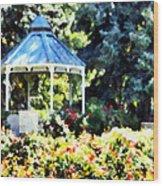 War Memorial Rose Garden 2  Wood Print