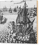 War Of Spanish Succession Wood Print