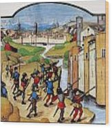 Warfare: Siege Of Arras Wood Print