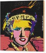 Warhollage 2d Wood Print