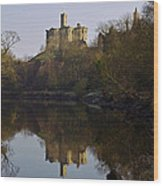 Warkworth Castle Wood Print