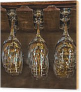Warm Reflections Wood Print by Brenda Bryant