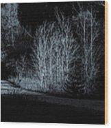 Warming Light On An Autumn Morning Wood Print