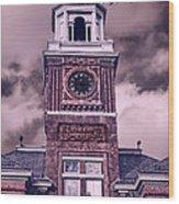 Warwick City Hall Wood Print by Lourry Legarde