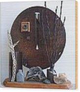 Warzawa Wood Print