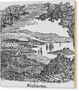 Washington, D.c., 1840 Wood Print