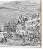 Washington, D.c., 1853 Wood Print