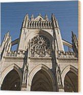 Washington National Cathedral Entrance Wood Print