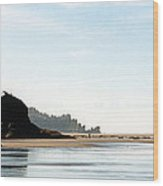 Washington Shore Wood Print