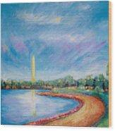 Washington Sky Wood Print