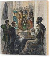 Washington: Voting, 1867 Wood Print