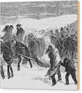 Washita Prisoners, 1868 Wood Print