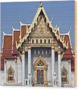 Wat Benchamabophit Ubosot Dthb180 Wood Print