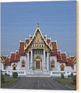 Wat Benchamabophit Ubosot Dthb279 Wood Print