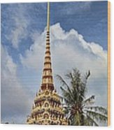 Wat Chalong 5 Wood Print