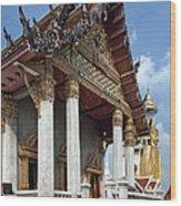 Wat Intarawiharn Ubosot Dthb1277 Wood Print