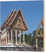Wat Kan Luang Ubosot Dthu179 Wood Print