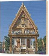 Wat Kan Luang Ubosot Gate Dthu181 Wood Print