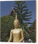 Wat Mai Buddha II Wood Print