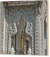 Wat Suan Phlu Ubosot East Portico Dthb1133 Wood Print