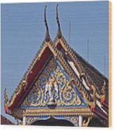 Wat Thewarat Kunchorn Gable Dthb286 Wood Print