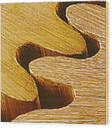 Watch Gears, Sem Wood Print
