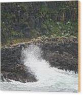 Water 0001 Wood Print