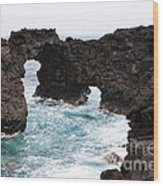 Water Arches Wood Print