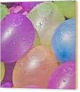 Water Balloons Wood Print by Patrick M Lynch