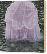 Water Bride Wood Print by Joana Kruse