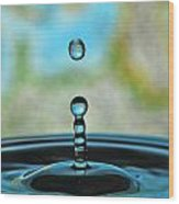 Water Drop 2 Wood Print