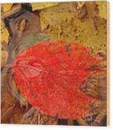 Water Gilded Wood Print