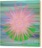 Water Lily 2012 Wood Print